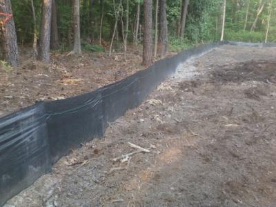 Silt Fence Installation In Connecticut